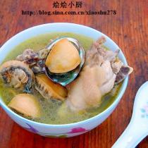 鮮鮑魚雞湯的做法