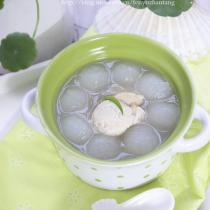 扇貝蝦米瓜球湯