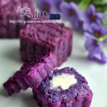 烤冰淇淋紫薯