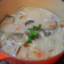 黃魚蛤蜊濃湯