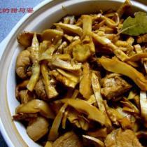 玉蘭片燒肉