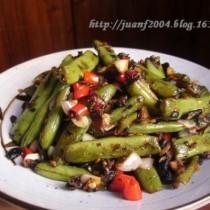 乾煸四季豆的做法