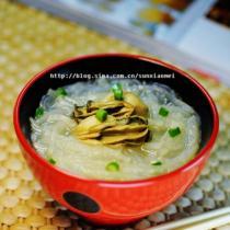 牡蠣蘿卜粉絲湯