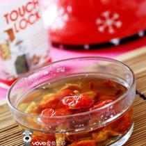 玫瑰茄聖女果花粉湯