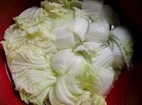 韓國切片泡菜的做法圖解1