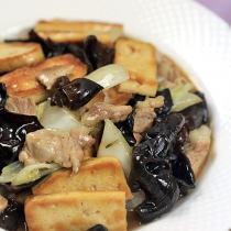 家常白菜豆腐的做法