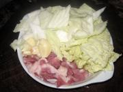 家常白菜豆腐的做法圖解2