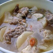 蘿卜排骨湯的做法