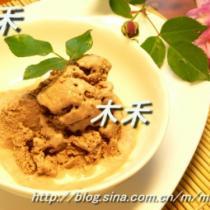 可可豆腐冰淇淋