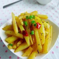 乾煸土豆條的做法