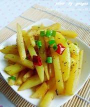 乾煸土豆條的做法圖解11