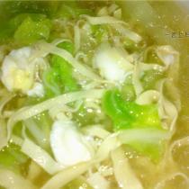 白菜千張鵪鶉蛋湯