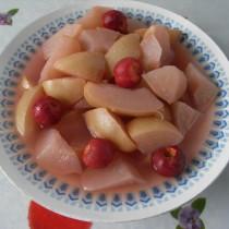 紅果酥梨羹的做法