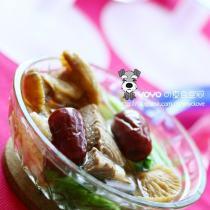 小白菜牛肉蘑菇湯