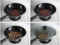 剁椒臘肉炒臭乾的做法圖解3