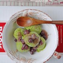 抹茶紅豆冰淇淋的做法
