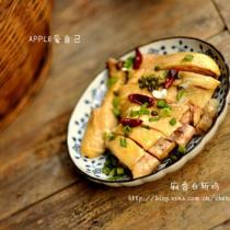 麻香白斬雞的做法