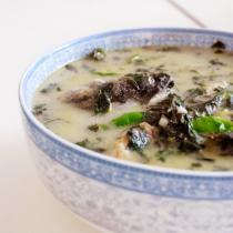 青椒紫蘇魚湯