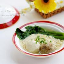 貢丸鮮蔬麵