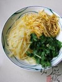 土豆雞蛋絲的做法圖解7