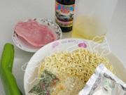 青椒肉絲炒麵的做法圖解1
