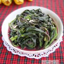 涼拌紫背菜