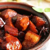 茨菰紅燒肉