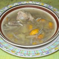 波羅蜜排骨湯的做法