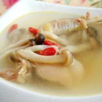 蟹味菇土雞湯