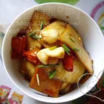 涼拌蘿卜皮的做法