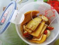 涼拌蘿卜皮的做法圖解3