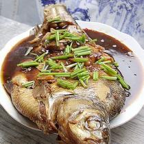 家常紅燒鯿魚