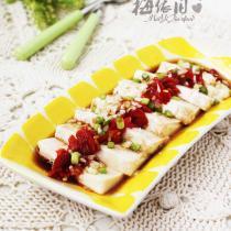 微波剁椒豆腐的做法