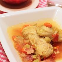 鮮湯圓白菜肉捲