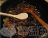 老虎苔炒臘肉絲的做法圖解6