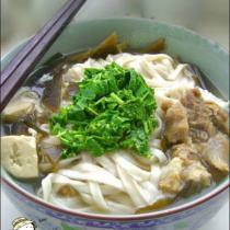 香椿高湯麵