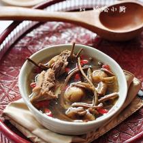 茶樹菇無花果老鴨湯