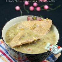 綠豆乳鴿湯