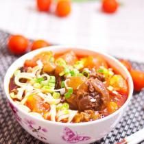 茄汁牛肉麵
