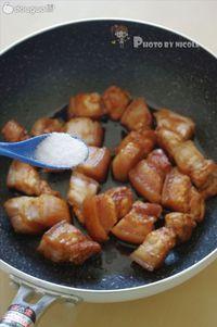 忍不住大口大口吃的富貴紅燒肉的做法圖解5