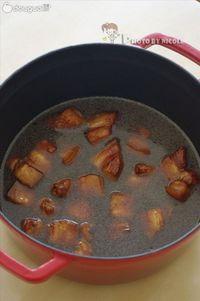 忍不住大口大口吃的富貴紅燒肉的做法圖解6