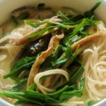 黃鱔魚湯麵