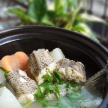 蘿卜海梭魚湯