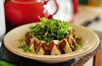 芝麻醬拌豆腐的做法圖解2