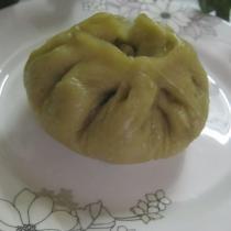 鴨肉綠豆芽翡翠包子