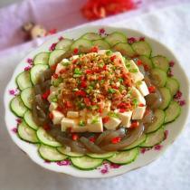 沙茶雙色豆腐的做法