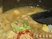 咖喱土豆燉排骨的做法圖解6