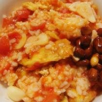 西紅柿雞蛋炒飯