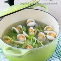 青蘿卜蛤蜊湯