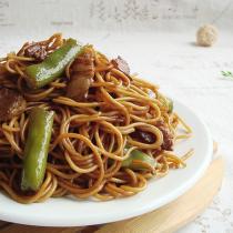 醬香扁豆燜麵
